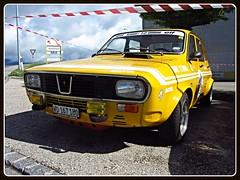 Renault 12 Gordini, 1973 (v8dub) Tags: auto old classic car french schweiz switzerland automobile suisse automotive voiture renault oldtimer 12 oldcar 1973 collector wagen pkw klassik gordini chavornay worldcars