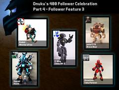 400 Follower Celebration - Follower Feature 3 (0nuku) Tags: lego bionicle feature shoutout moc
