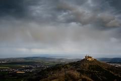 Here Comes the Rain (spcoonley) Tags: castle germany deutschland europe fuji fujifilm burg hohenzollern xe2 xf23mmf14