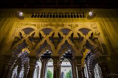 Palacio de la Aljafera (J Fuentes) Tags: arquitectura flickr save unesco zaragoza palacio cortes mudejar patrimonio aragn aljafera