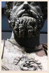 Marc-Aurle (ben ot) Tags: sculpture statue antique marble marbre buste atthemuseum aumuse louvrelens
