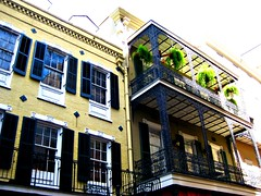 French Quarter High (TwinLotus II) Tags: balcony neworleans frenchquarter nola ferns