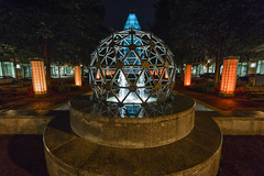 Geodesic (Geoff Livingston) Tags: alexandria statue va dome trademark geodesic patent uspto
