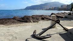 Trapani (LILI 296....) Tags: mer water eau paysage trapani mditerrane sicile ancre croisiredefrance canonpowershotg16