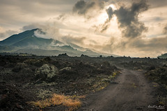Keep Walking (Leslie Hui) Tags: bali mountain volcano lavarocks