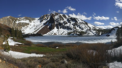 Tioga Pass Opens Today! (Jeffrey Sullivan) Tags: california camera panorama copyright usa lake jeff apple mobile ellery photo spring phone may cellphone images sierra sullivan eastern iphone 2016 6s iphoneography iphone6splus