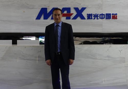 Visit to MAX Photonics