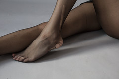 IMG_0931 (fishnet1966) Tags: black feet girl skinny foot legs tights pantyhose nylon