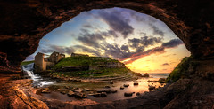 El Bolao (Pablo RG) Tags: costa sol atardecer mar el cielo bolao cantabria cobreces toanes
