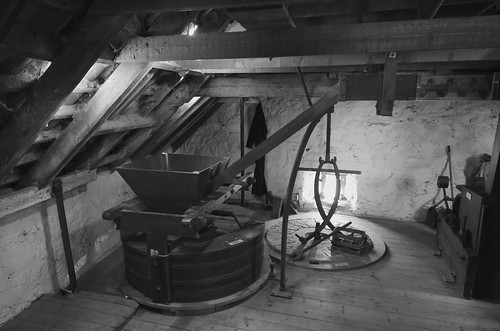 Preston Mill, interior