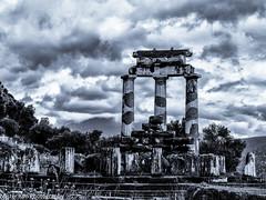 Temple of Athena (Mister Kim Photography) Tags: temple goddess delphi greece athena greekmythology