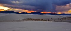 White Sands [explored] (Anfony79) Tags: sunset white newmexico southwest monument desert whitesands national nm sands