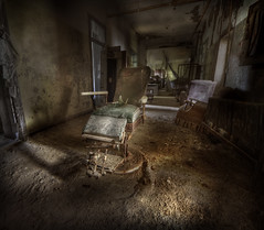 session 9  ::   ( Explore ) (andre govia.) Tags: new york abandoned film buildings hospital us chair closed decay 9 down andre creepy explore horror session dentist asylum derelict psychiatric ue sanitarium govia exploreing