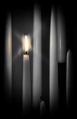 Candles (DocSims) Tags: christmas leica xmas holiday ronald candle texas tx ron ronnie doc taper sims dmr r8 leaguecity digitalback