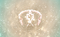 Stars (margot.trudell) Tags: blue wallpaper texture girl glitter circle stars gold laptop space sparkle 1440x900