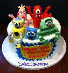 Yo Gabba Gabba Birthday Cake (SweetElement) Tags: birthdaycake fondantcake kidscake sweetelement yogabbagabbacake sweetelementcake yogabbagabbabirthdaycake sweetelementbirthdaycake nycbirthdaycake