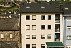 Vista posterior del edificio