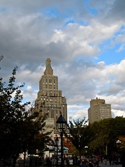 One Fifth Avenue, New York (Anomalous_A) Tags: nyc newyorkcity sky ny newyork building architecture clouds arch manhattan 1800s landmark nyu triumphalarch artdeco marble deco greenwichvillage 1890s beauxarts 1880s mckimmeadandwhite stanfordwhite newyorkcitylandmarkspreservationcommission nyclpc