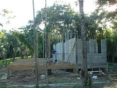 Bar Restaurant Construction (Dis da fi we) Tags: puntagorda toledodistrict belize toledo hickateebelize hickateepuntagorda jungle rainforest forest wildlife culture cottages hickatee