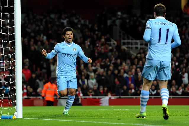 Arsenal 0-1 City