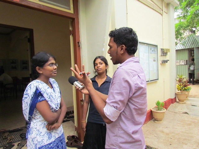 Thumbnail for Jaffna media students become broadcast journalists