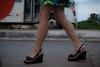 6406tw (Chico Ser Tao) Tags: women woman walking voyer voyerismo street rua sexy sandália saltoalto mulheres mulher pernas highheels gênero genre feminismo feminism