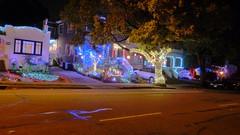 Christmas in Berkeley (@bastique) Tags: christmas berkeley christmaslights hd holidaylights multicolor multicolour treelights holidaydisplay highdynamic monterreydrive