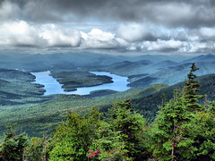 Lake Placid (PlotzPhoto) Tags: summer usa mountain lake ny newyork mountains nature water clouds landscape outdoors cloudy scenic upstate adirondacks upstateny upstatenewyork newyorkstate adirondack whiteface lakeplacid adirondackmountains whitefacemountain