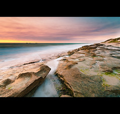 Burns Beach (mug_of_tea) Tags: sunset sea beach pool rock coast nikon long exposure dusk sigma australia line burns nd western scape grad 1020 channel d3