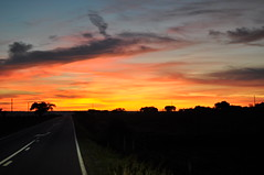Road2Sunset (Turist of the World) Tags: road travel sunset portugal nikon prdosol estrada alentejo arronches