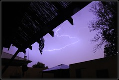 Got to love Australian summer storms (Marc Russo (Australia)) Tags: sky storm rain weather danger australia fork perth angry marc bolt western lightning scared russo 50d marcrusso