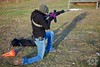 Erica shooting from Speed Kneeling