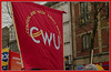 Public Sector Strikes in Preston #strike #n30 Communication Workers Union  Banner Central & West Lancs Branch : Cheapside Preston :