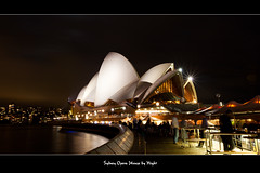 Sydney Opera House by Night (thedigitalpro) Tags: operahouse australiasydneyharbour
