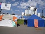 Testing tents