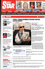 Daily Star (Ronnie Biggs The Album) Tags: ronnie biggs greattrainrobbery oddmanout ronniebiggs ronaldbiggs
