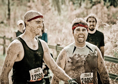 Necessary Roughness (Patti-Jo) Tags: men fun mud florida smiles running dirty event recreation fundraiser challenge obstacles boondoggle preset dadecity lightroom3 toughmudder