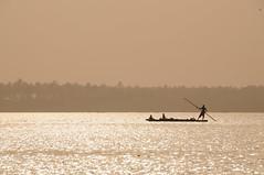 Sun Setting over Lagoon (qatbart) Tags: sunset lagoon lagos nigeria