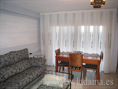 "Cortinas Modernas en La Dama Decoración • <a style=""font-size:0.8em;"" href=""http://www.flickr.com/photos/67662386@N08/6501446895/"" target=""_blank"">View on Flickr</a>"