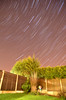 Back Garden star trail 2 (cotty332000) Tags: uk longexposure light sky colour beautiful night garden landscape nikon long exposure tag2 tag1 gorgeous country trail nighttime lovely favourite brilliant startrail tamron1750 d7000