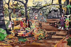Day's End Celebration. 2007 (Elizabeth Huey) Tags: brooklyn painting chelsea artist contemporary paintings huey asylum elizabethhuey daysendcelebration