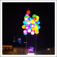 Lumires 2011 - I love clouds (larsen & co) Tags: france square lyon bellecour ftedeslumires placebellecour iloveclouds jacquesrival lumires2011 lyonlumires2011