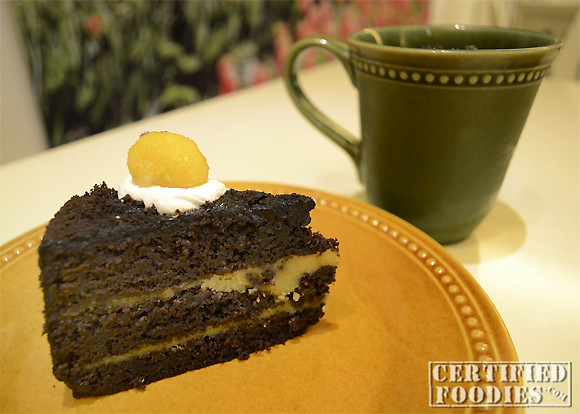 Chocolate Pastillas Cake from Cravings