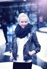 She's a wintergirl (nan-Nguyen) Tags: xmas winter nikon sylvester frankfurt wintergirl lightfall