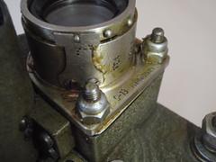 KOMZ S-13  (1954) Polish Air Force (heritagefutures) Tags: camera gun force aircraft air 1954 polish cis sn s13 mig17 zavod komz kazanskii recordind optikomekhanicheskii 05544285