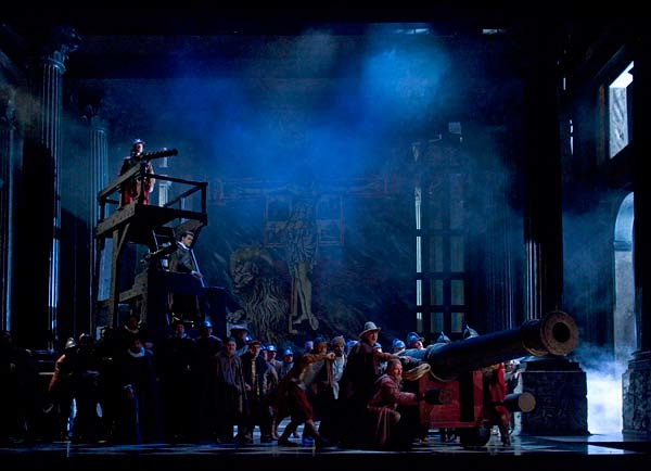 The production of Otello © Catherine Ashmore/ROH 2010