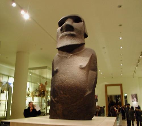 大英博物館のモアイ by Ik T