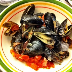 Christmas Eve tradition: Mussels marinara
