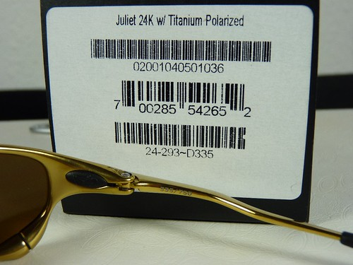b8174f6ae 24k Oakley Juliet- JTM Power