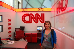 Inside CNN Tour 3 (ana_feliciano) Tags: news tv tour headquarters international cnn inside hq